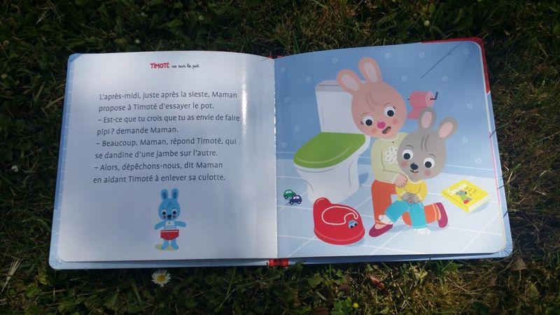 [ Editions Gründ ] Timoté va sur le pot ( Chut ... les enfants lisent ! )
