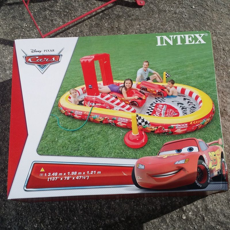 [ Intex ] Plouf avec Cars !
