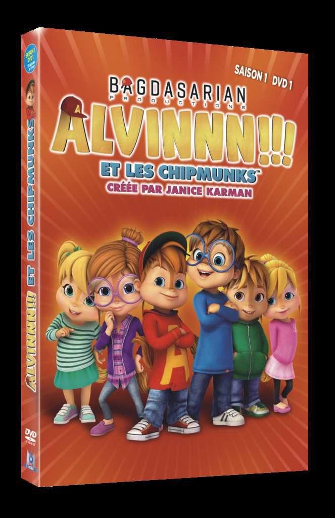 [ Sortie DVD ] Alvinnn ! et les Chipmunks ( concours )