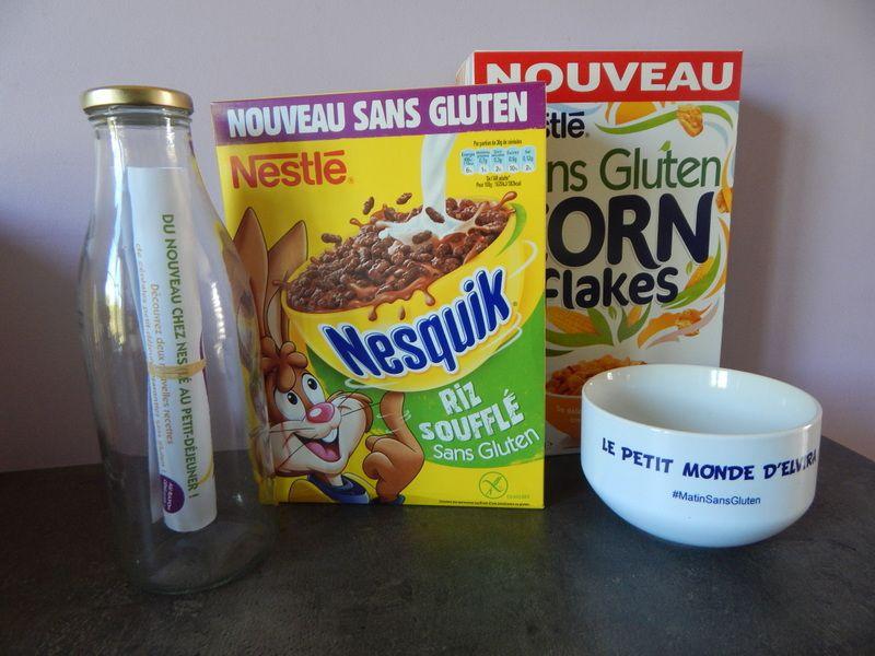 [ En cuisine ] Crumble banane et céréales Nesquik #matinsansgluten
