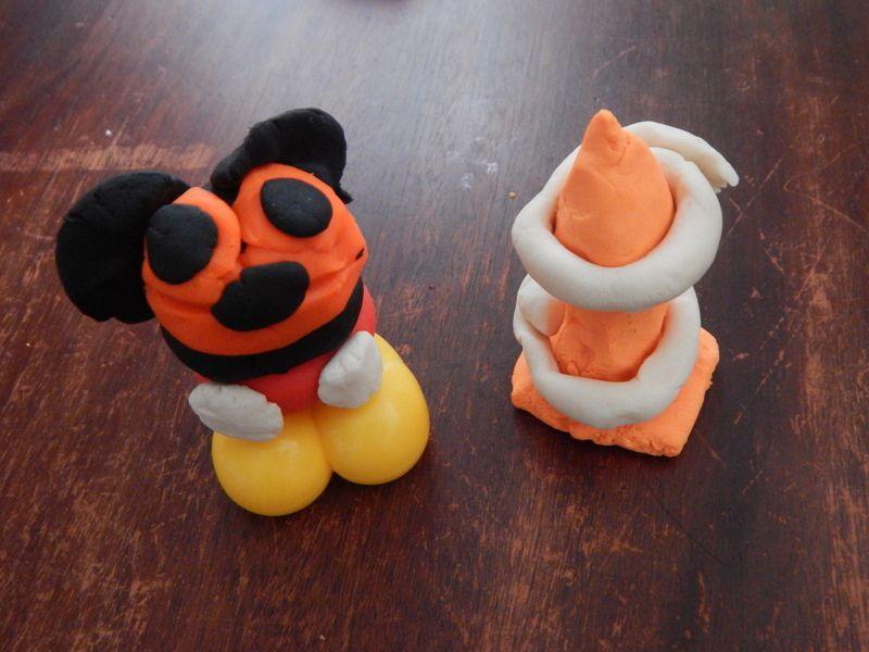[ Play Doh ] Mickey et Donald en pâte à modeler
