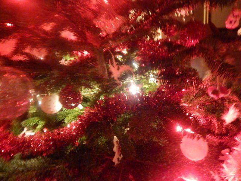 Notre Noël traditionnel en rouge et blanc