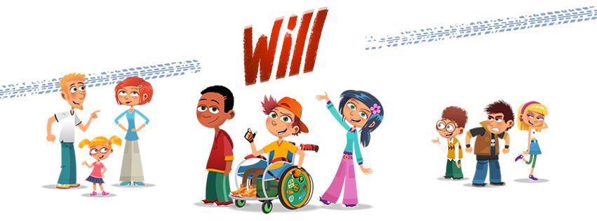 Will, le héros en 2 roues qui sensibilise au handicap