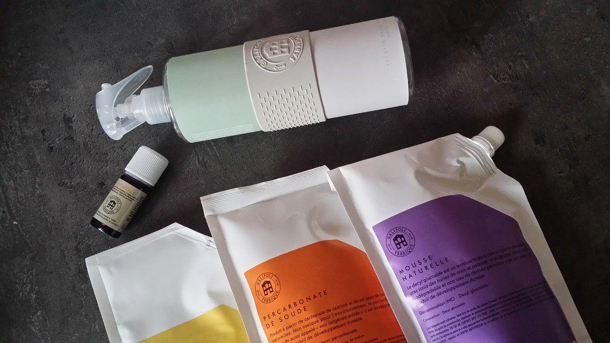 [ Galibox ] Fabriquer ses produits ménagers naturels et home-made