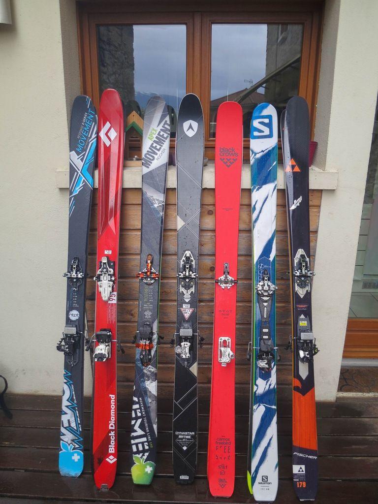 Parmi les skis testés ce jour, la nouvelle gamme Salomon et son MTN explore 95