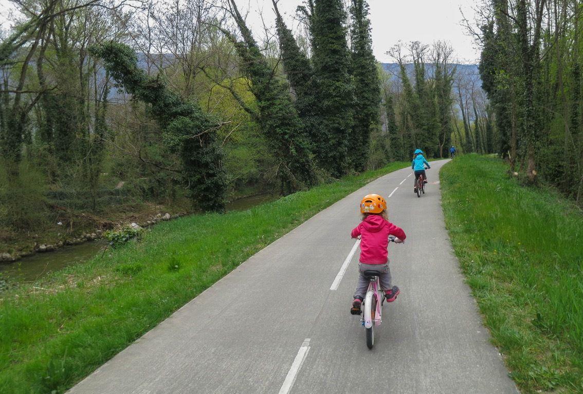 La voie Verte au nord de Chambéry