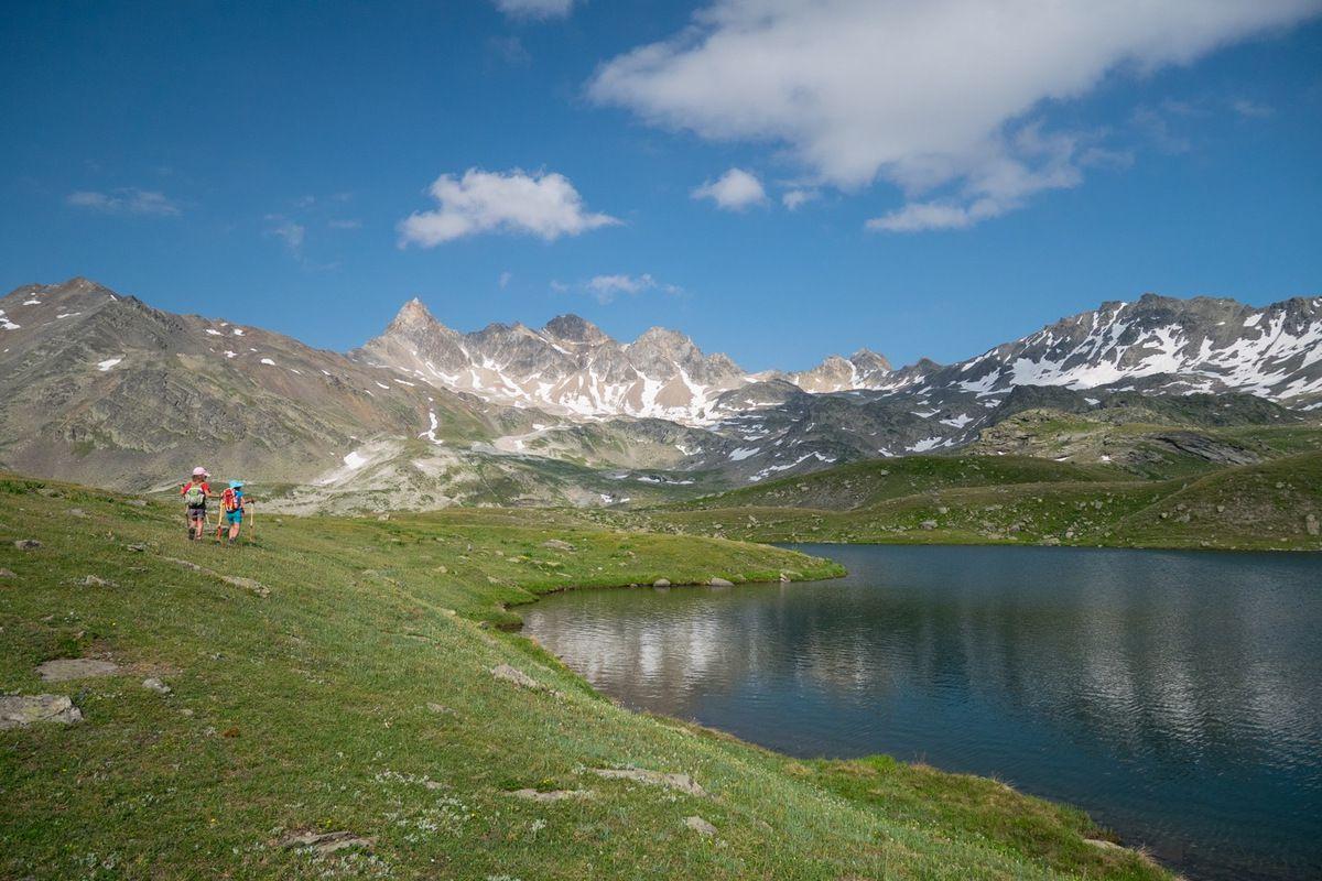 Pas mal de distance (700 m de dénivelé et 8 km de distance) pour arriver au magnifique lac Curtalès