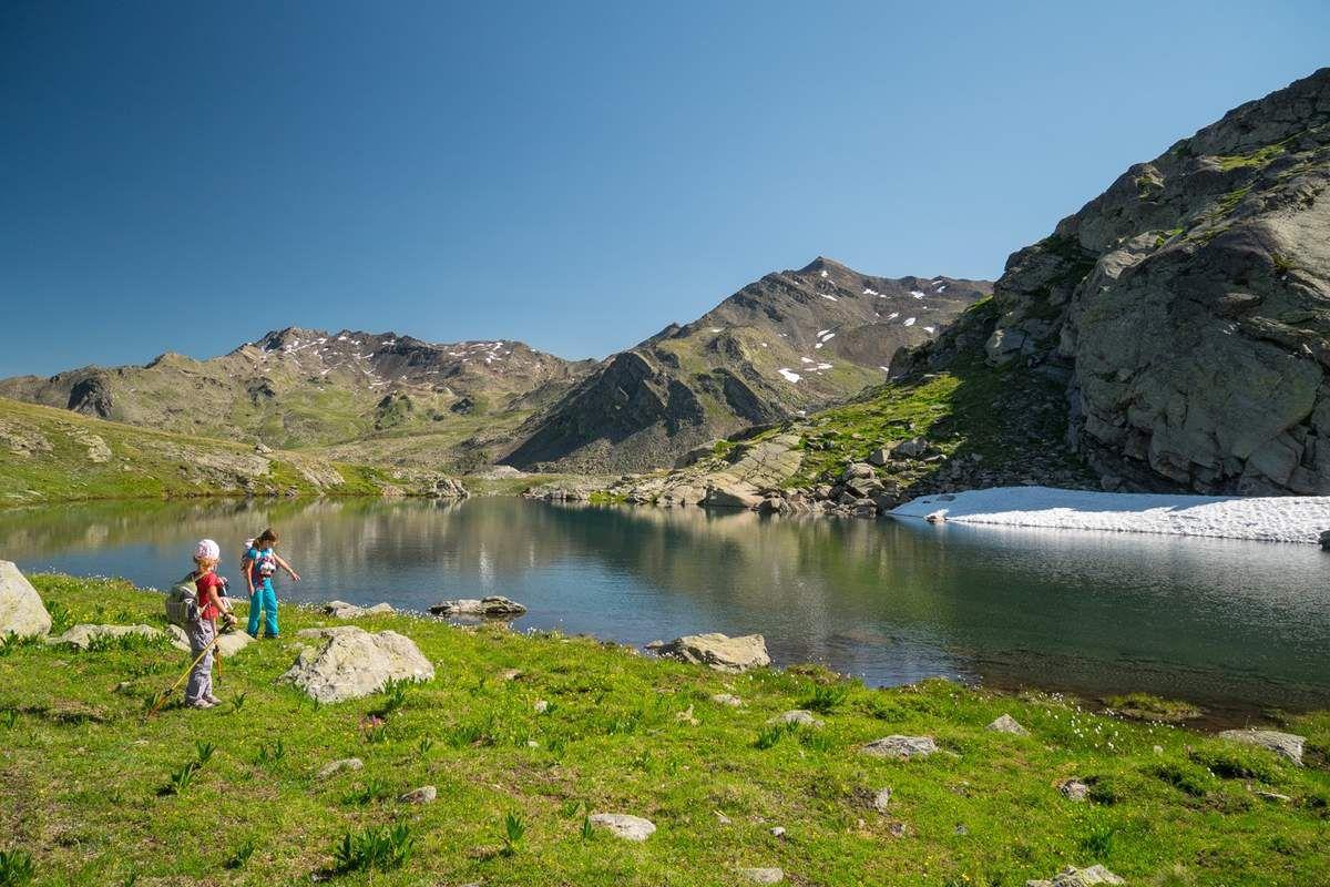 Pause au lac sans nom