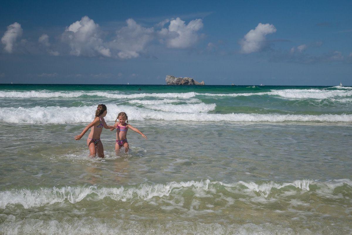 Des plages bondées de monde !!!!