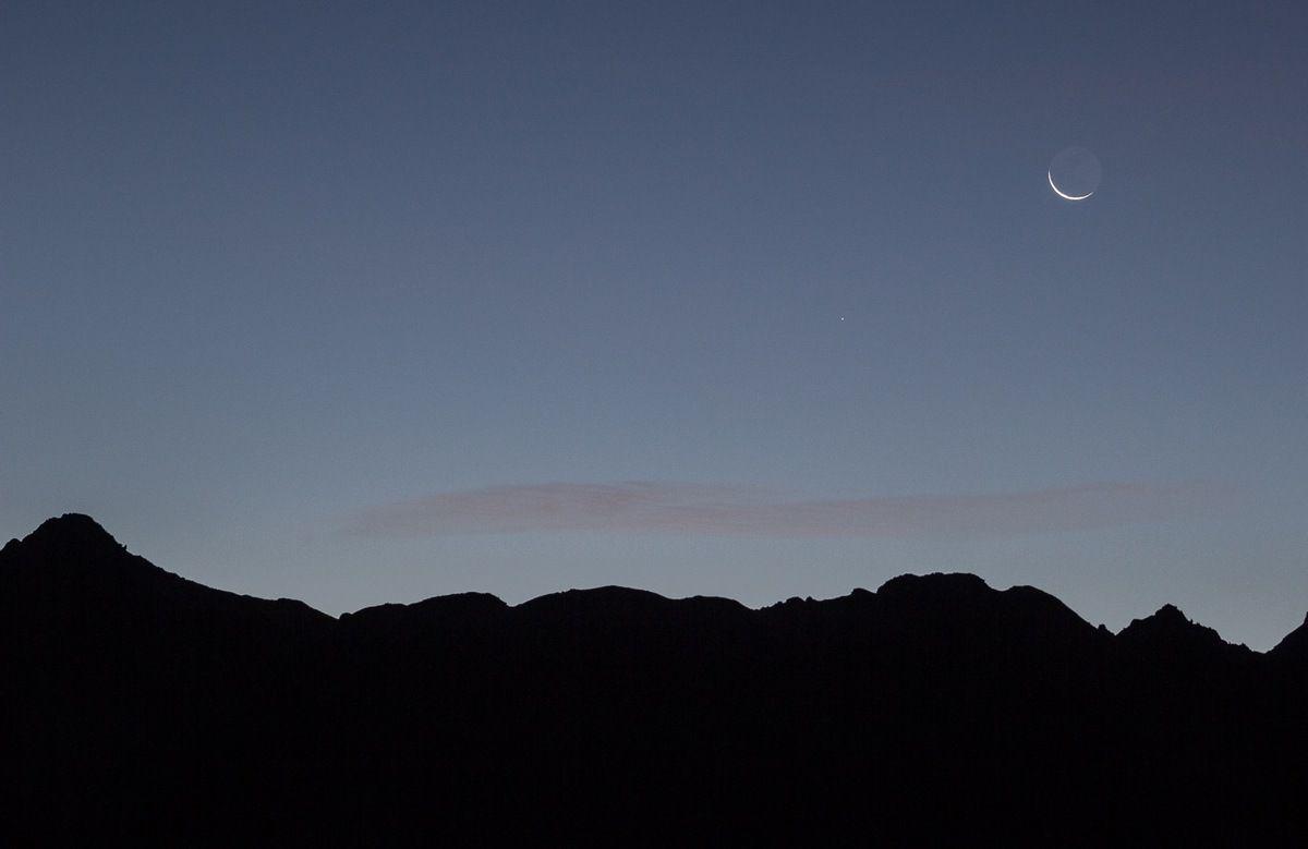 Lever (de croissant de) lune