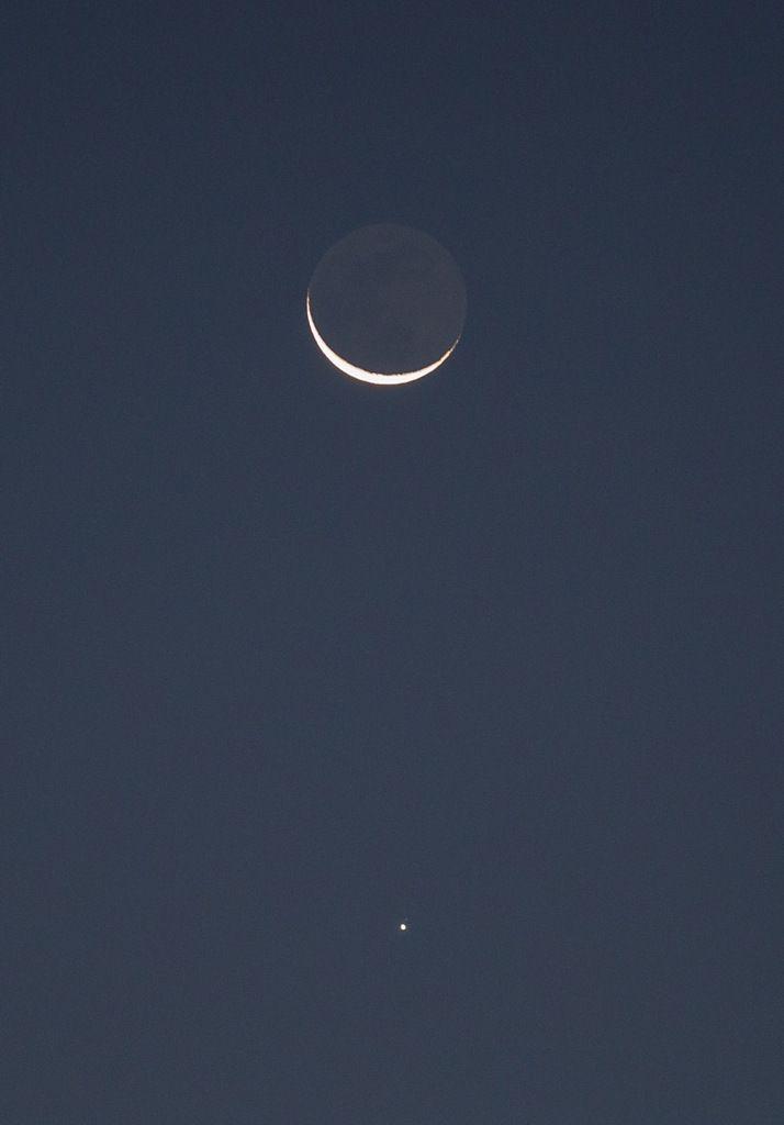 Lune et Jupiter