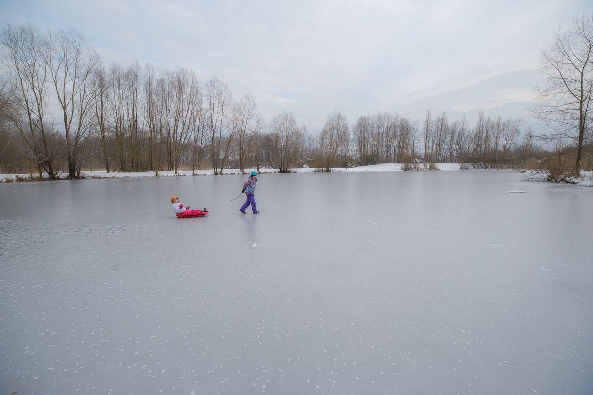 Parties de luge sur glace : dément !