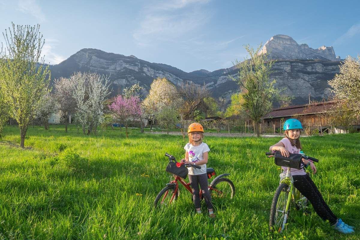 Un décor idéal pour se balader à vélo
