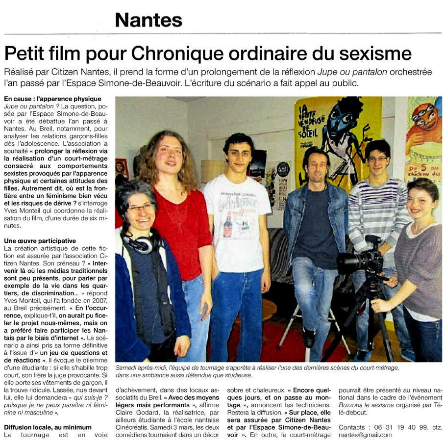 Ouest-France. 06/03/2012
