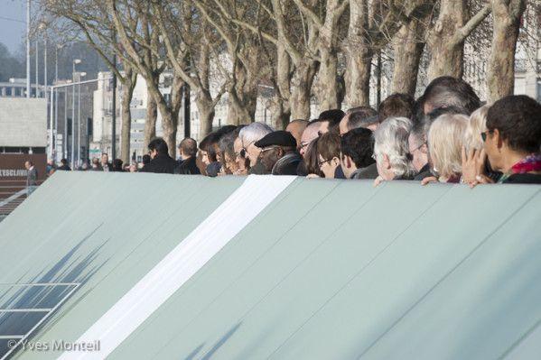 Inauguration du Mémorial de l'abolition de l'esclavage en 2012. Photo : Yves Monteil