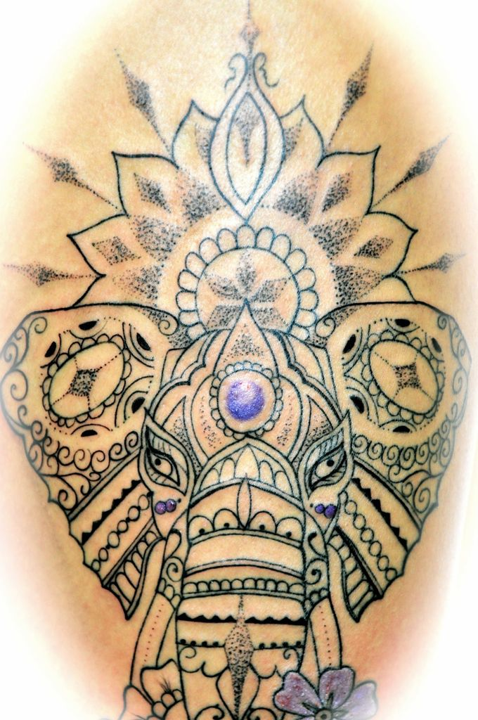 Tatouage Elephant