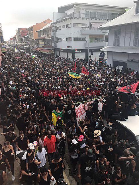 Marche pour la Guyane !