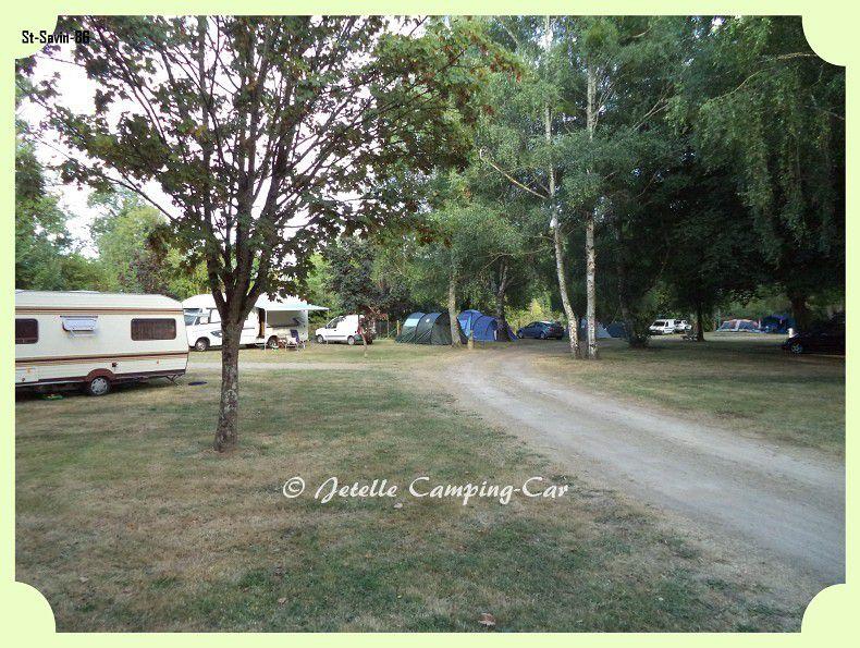 Camping: #saint-Savin (86)