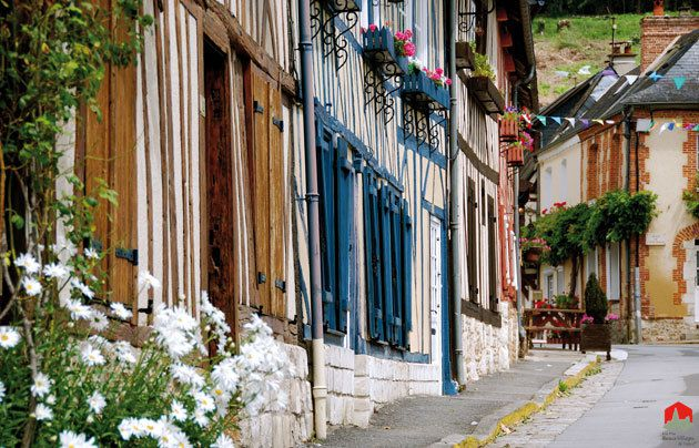 Photo:Plus beaux villages de France.