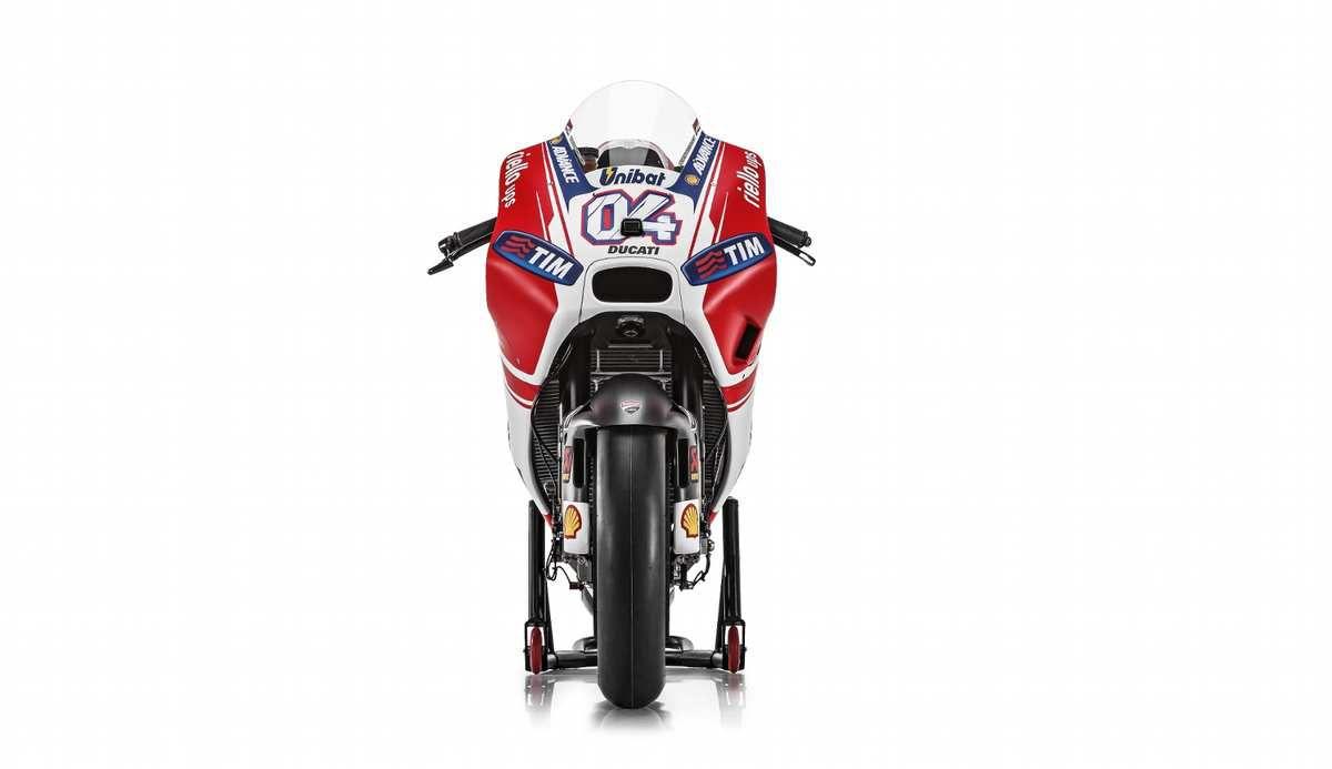 La Ducati Motogp desmosedici GP 15 photos et fiche technique