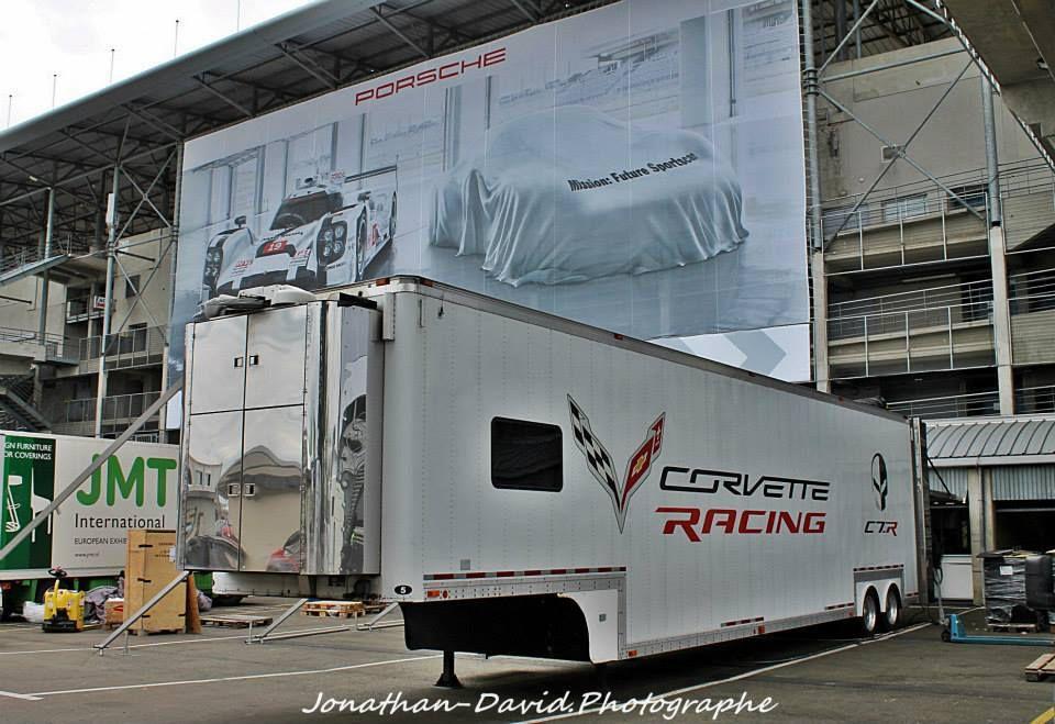 24 Heures du Mans 2015 , Les camions arrivent