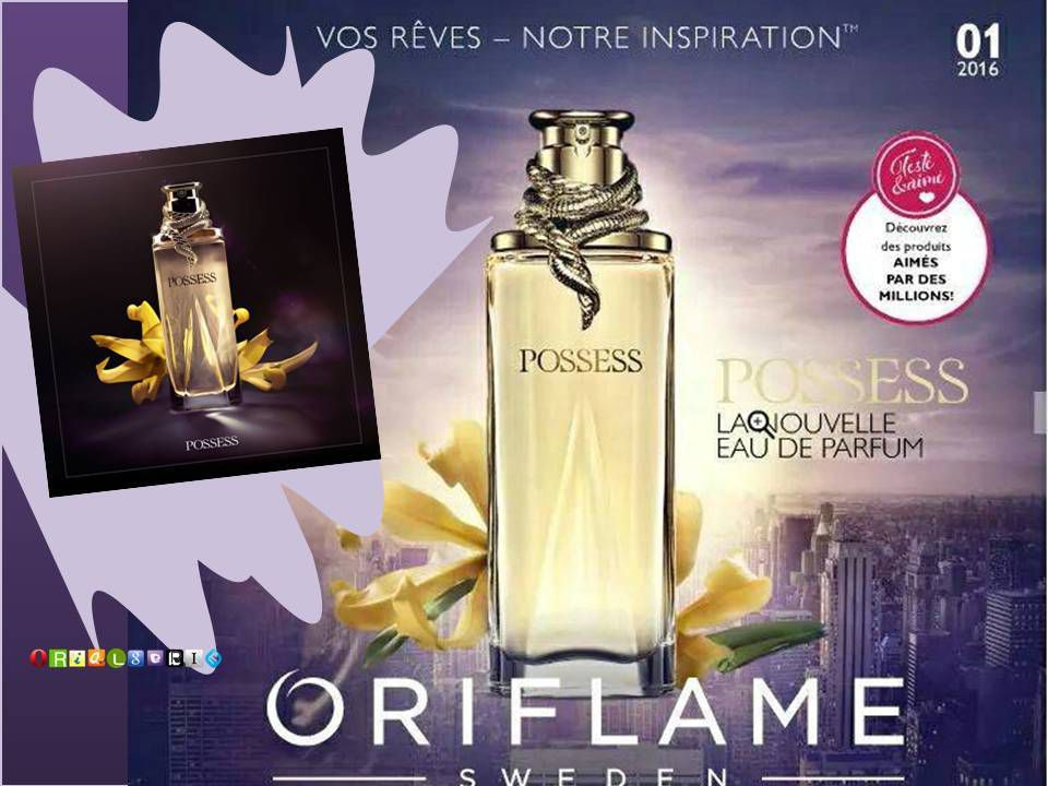 Catalogue 1 ORIFLAME 2016 - POSSESS edp