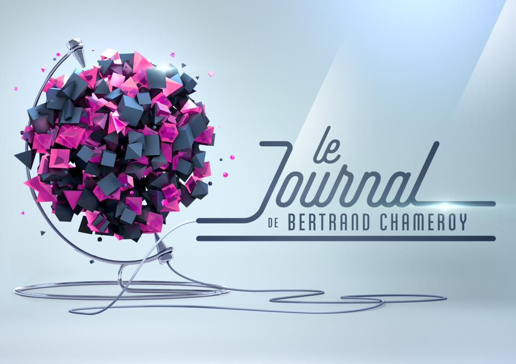 "Logo officiel de ""Le Journal de Bertrand Chameroy"""