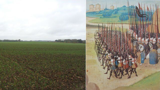 25 octobre 1415 : Azincourt , morne plaine !