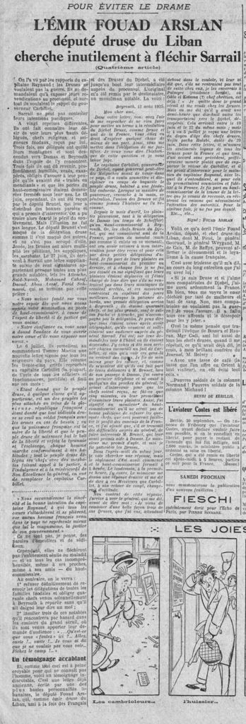 L'Echo de Paris - 1er octobre 1925