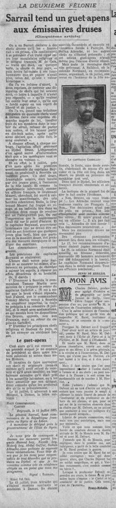 L'Echo de Paris - 2 octobre 1925