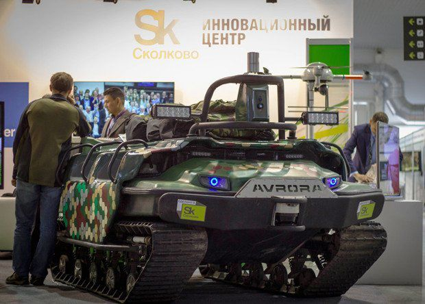 Robotique militaire : De la chenillette Renault UE au SMAR