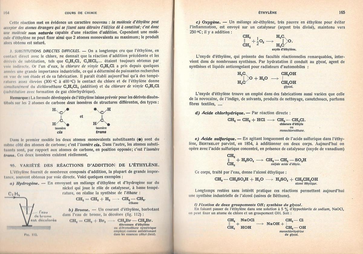 Ca gaze : Quand la synthèse d'un gaz de combat était enseignée par l'Education Nationale !