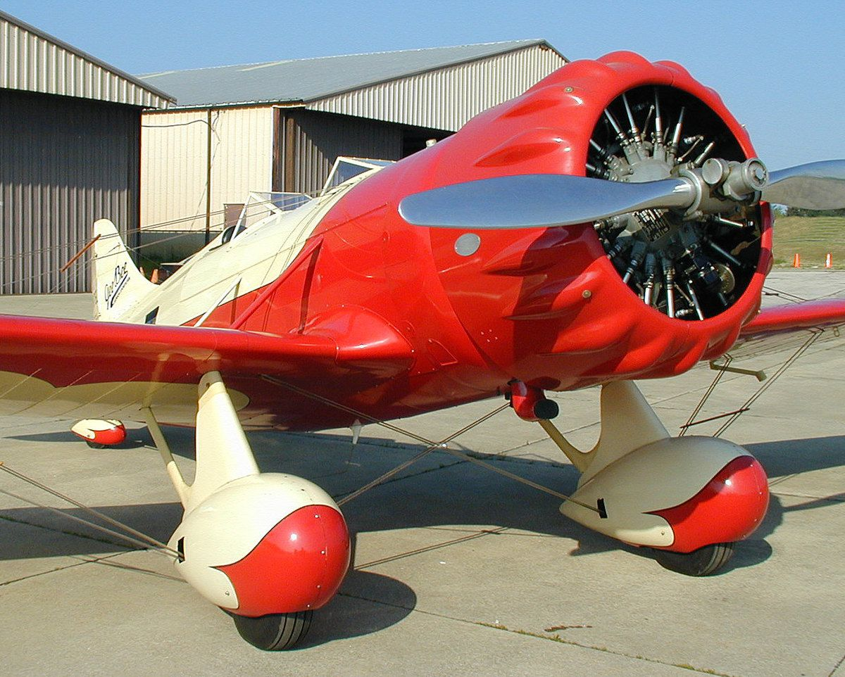 Gee Bee Y NR718Y bi-places.