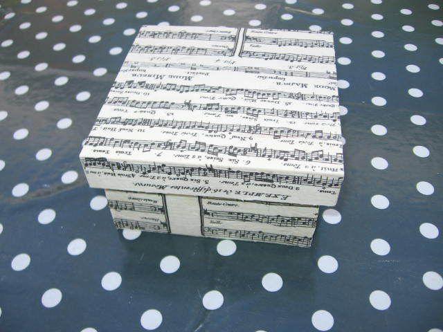 boîte vide-poches &quot&#x3B;Partition de musique&quot&#x3B;