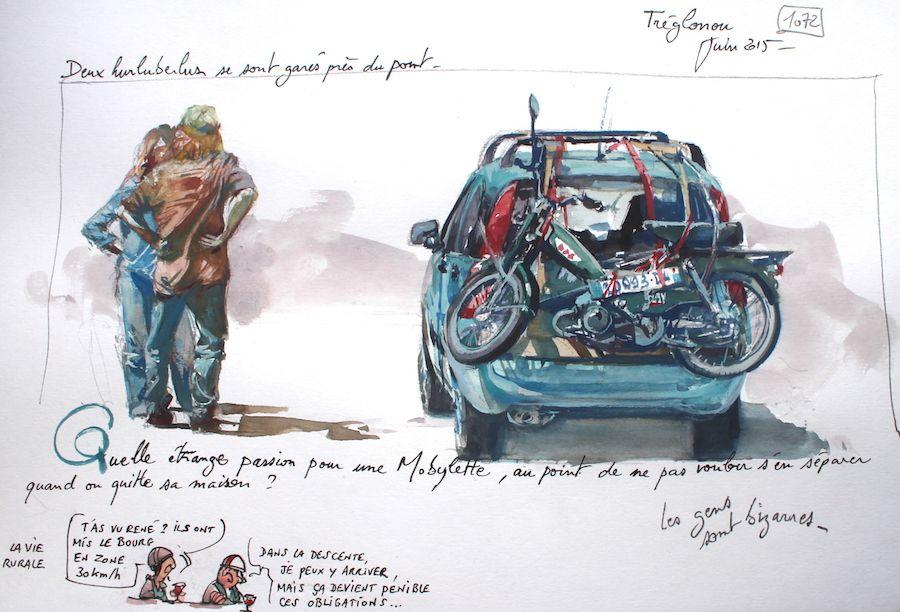 Une Bretagne par les Contours / Tréglonou