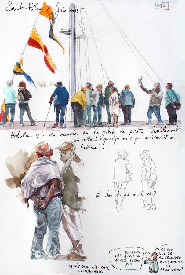 Une Bretagne par les contours / Saint-Pabu