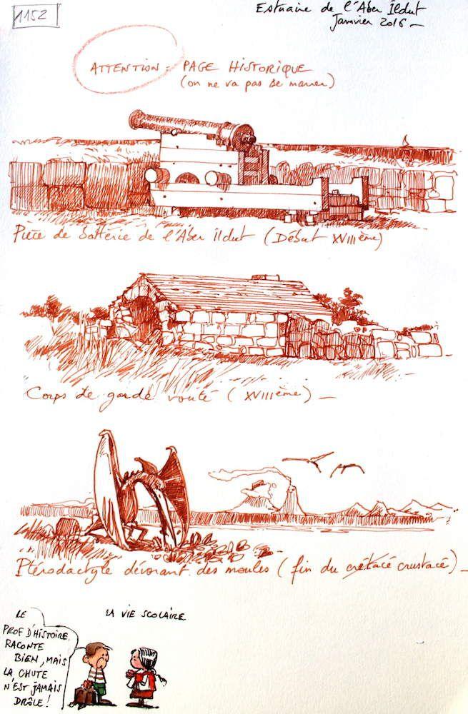 Une Bretagne par les contours / Estuaire de l'Aber Ildut