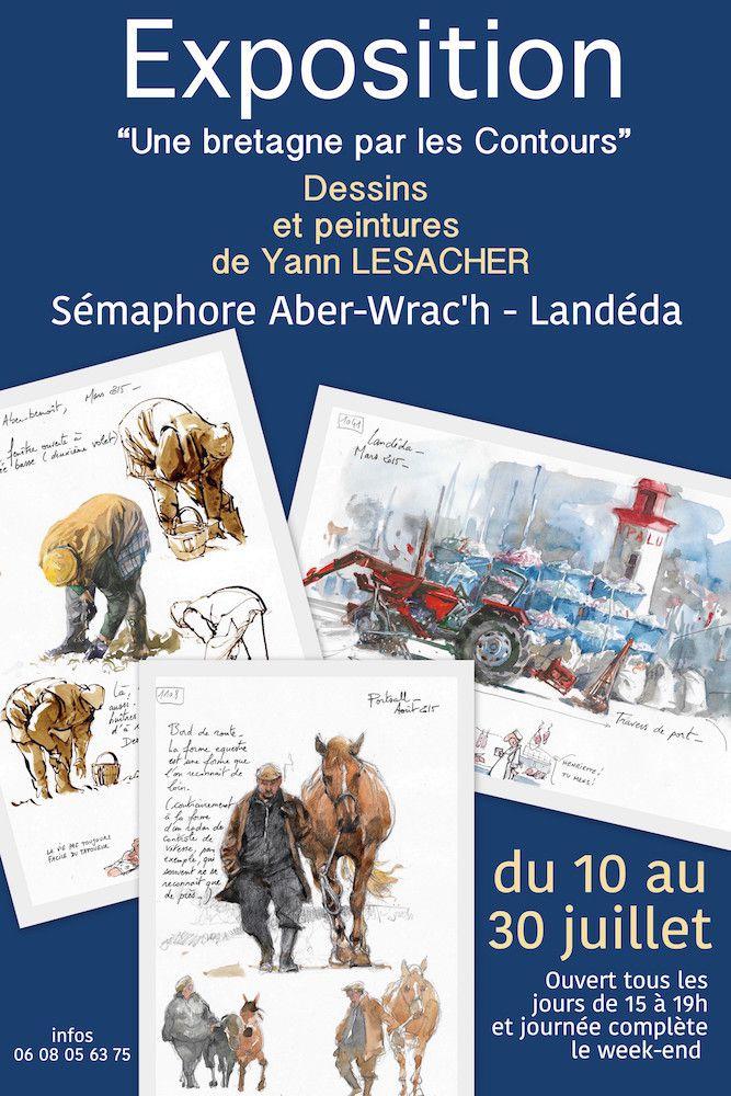Exposition / Landéda (Finistère)