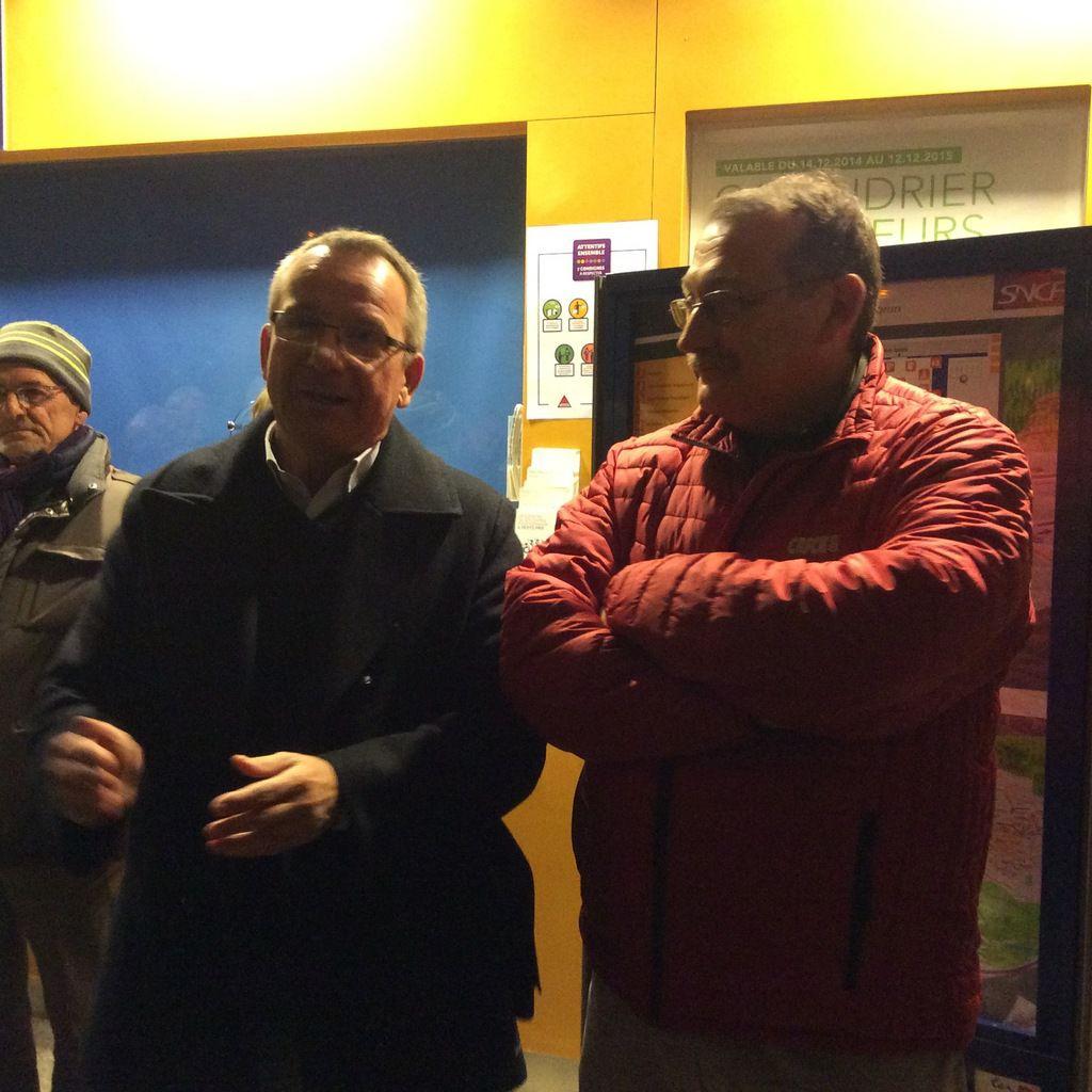 Un samedi soir pour soutenir le train de nuit Briançon / Paris …