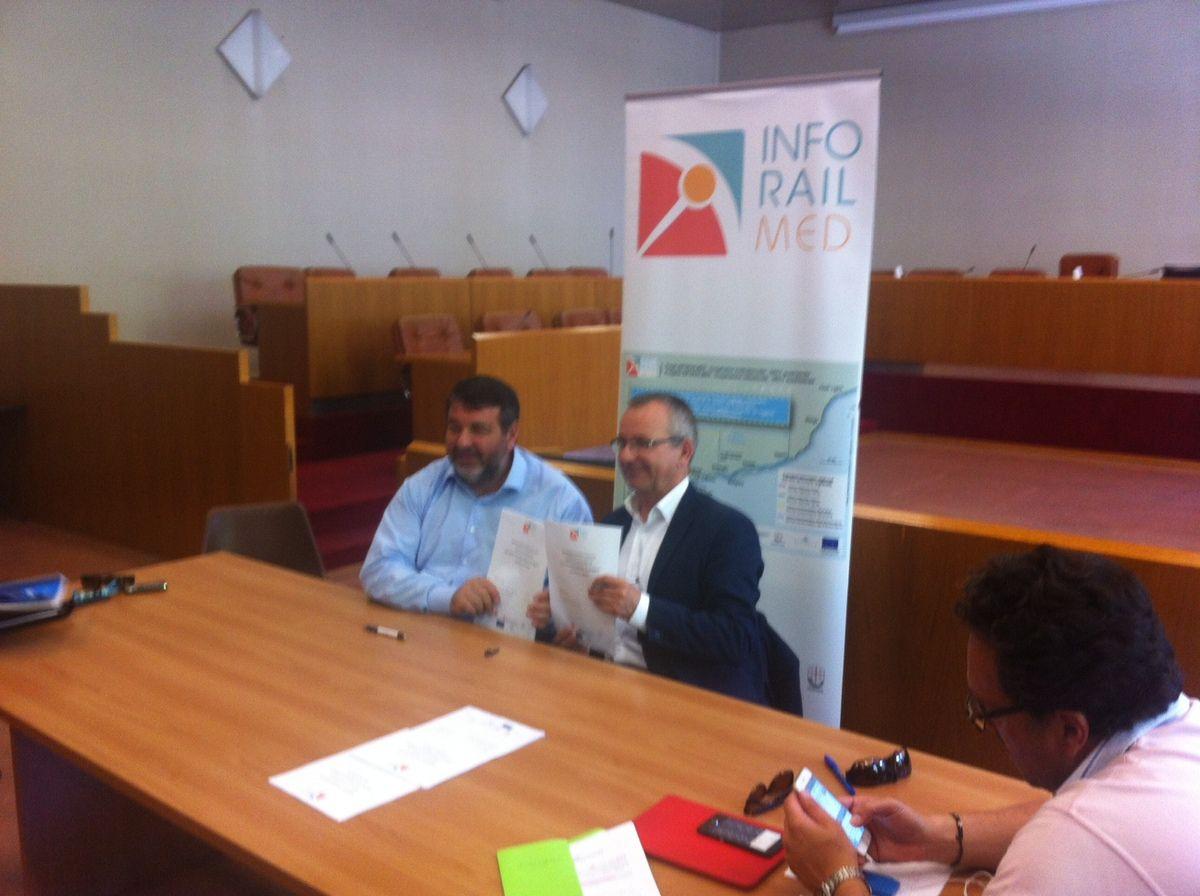 Les Régions PACA et Ligurie agissent en faveur des usagers transfrontaliers ...