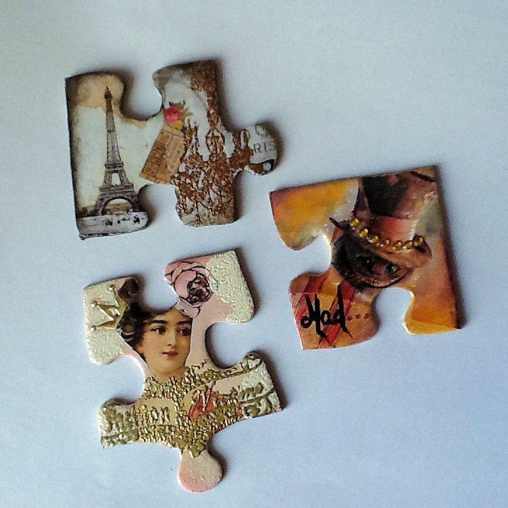 cartes altérées et échange de pièces de puzzle février