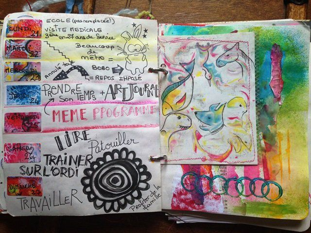 art journal mars