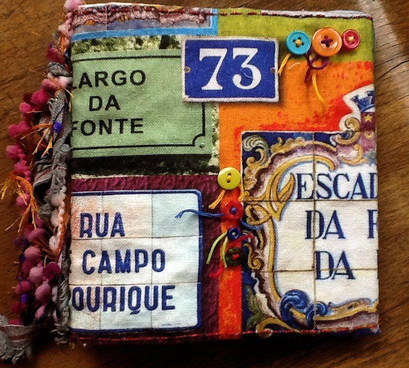 Piqué libre et carnet textile