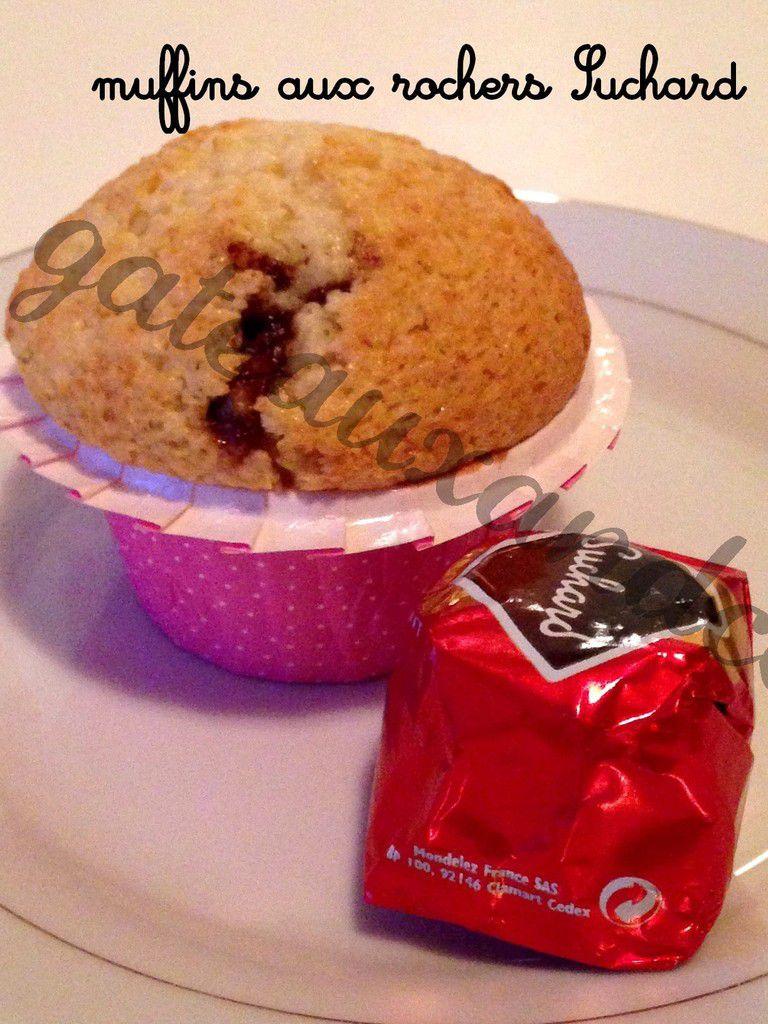 Muffins aux rochers Suchard
