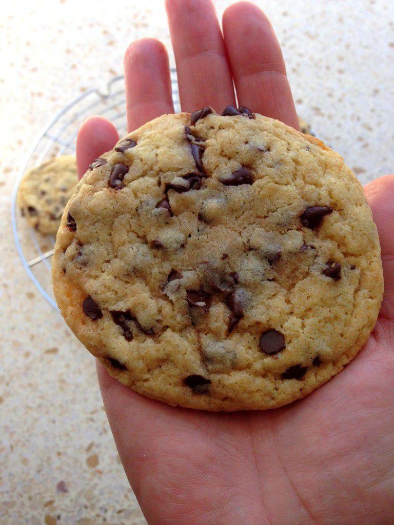 Cookies aux pépites de chocolat délicieux !