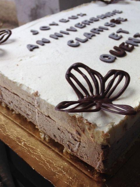 Gâteau trois-chocolats