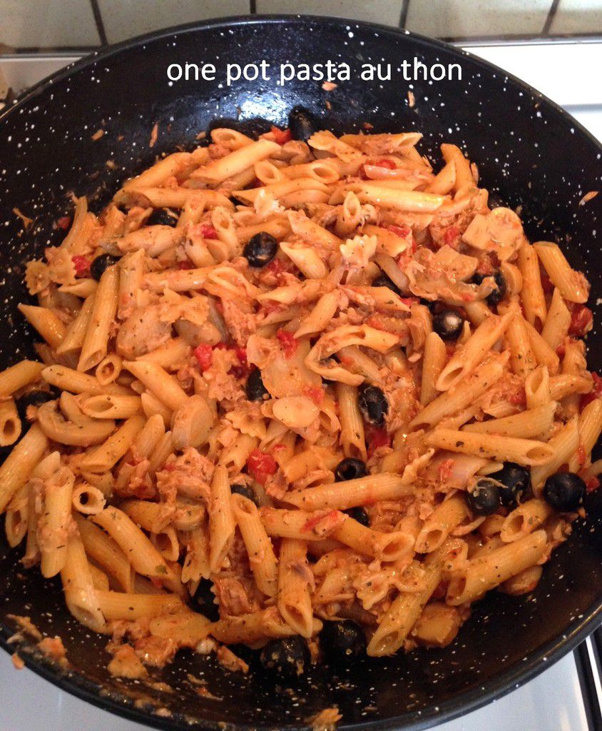 One pot pasta au thon