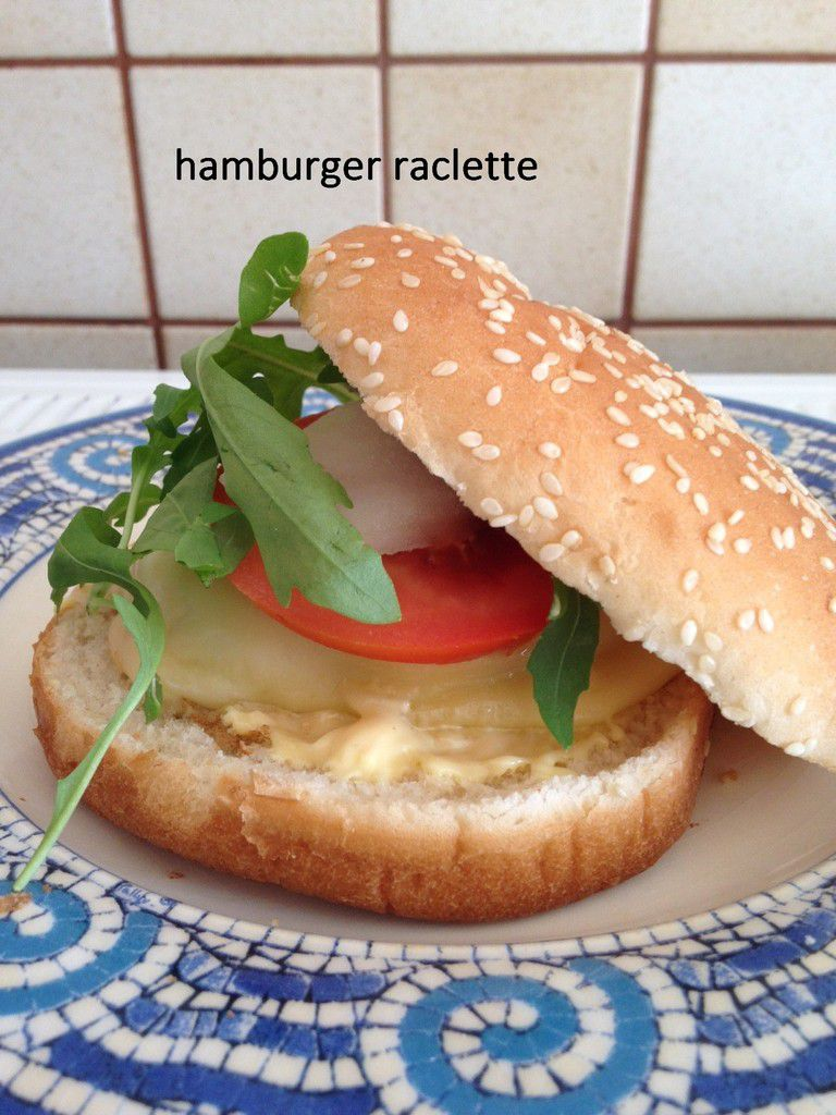 Hamburger raclette