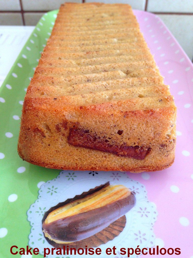 Cake pralinoise et spéculoos