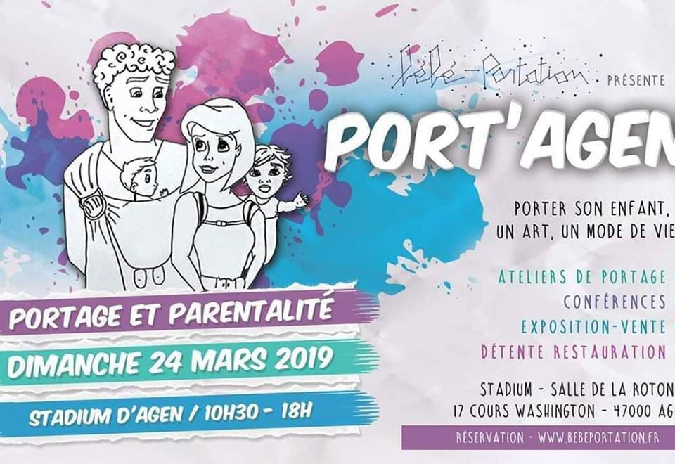 b5176cde6d0 Le salon du portage physiologique Port Agen 2019